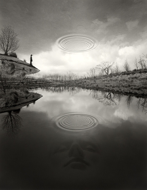 Jerry Uelsmann, 'The Edge of Silence', 2007, Pictura Gallery