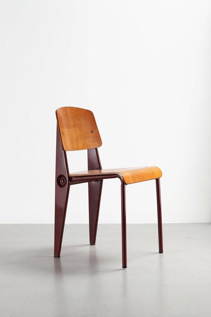 , 'Cafétéria no. 300 demountable chair,' 1950, Galerie Patrick Seguin