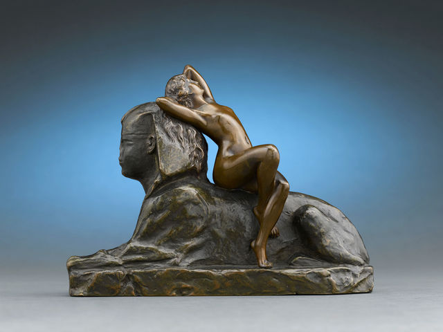 , 'Sphinx,' ca. 1904, M.S. Rau