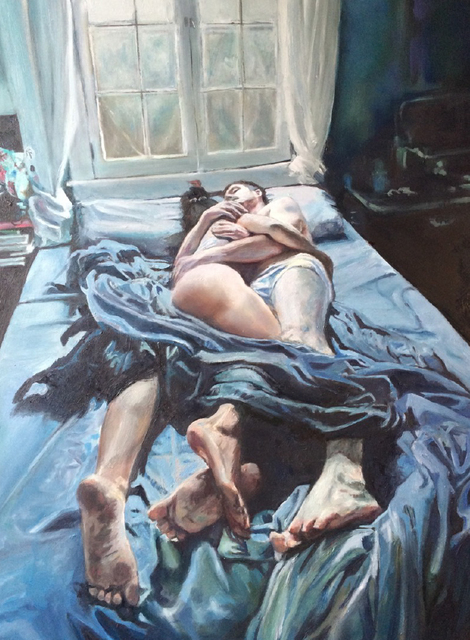 , 'Couple ib Bed,' 2016, New Art Projects