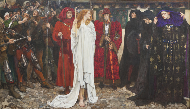 , 'The Penance of Eleanor, Duchess of Gloucester,' 1900, de Young Museum