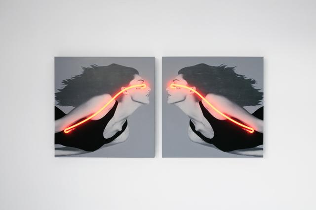 , 'Blindness El Beso Pair,' 2017, Galerie LeRoyer