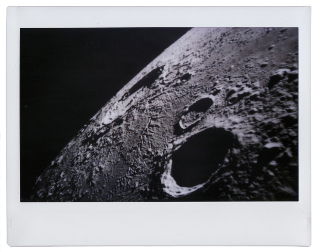 , 'Copernicus and Reinhold Crater_Moon,' 2013, Pasto