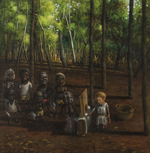 , 'Waiting for a confession - 31 October 1976,' 2012, Australian Galleries