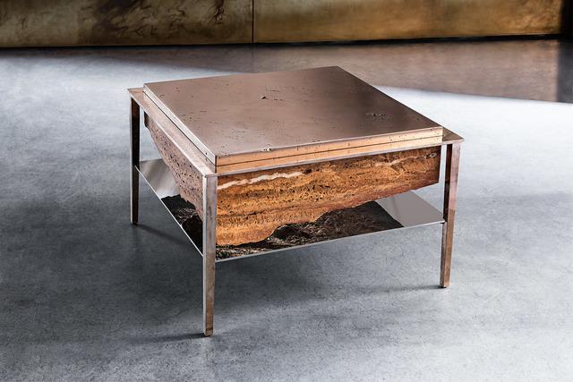 , 'Cremino table,' 2017, Gianluca Pacchioni