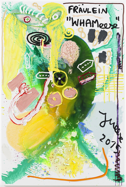 "Jonathan Meese, '""HALLO, SCHNIED' SCHNIEDELLION IS BACK, WIE PIGGY PIGGDIRN...""', 2015, Boers-Li Gallery"