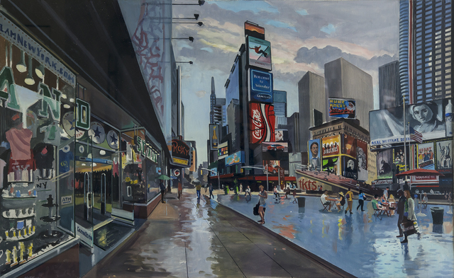 , 'Study for Times Square,' 2012, Louis K. Meisel Gallery