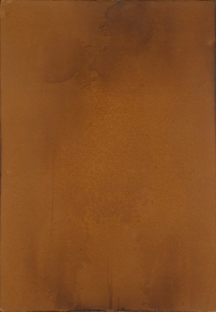 ", 'F 87 ""Body imprint made with water and fire"",' 1961, Galerie Gmurzynska"