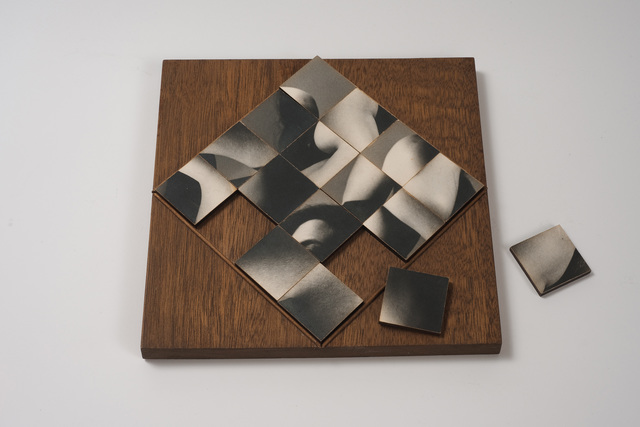 , 'Multiple Solution Puzzle,' 1965, Hammer Museum