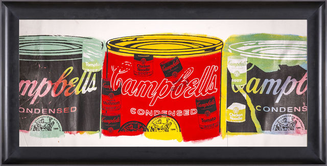 Steve Kaufman, 'Campbells Soup Trio', 1996, Modern Artifact