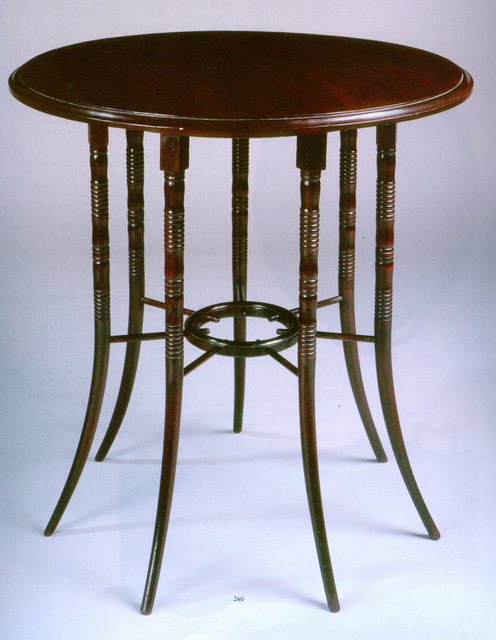 , 'Circular Table,' 1876, The Fine Art Society