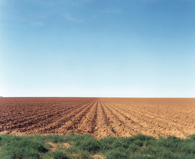 , 'North Texas: Plowed field, Patricia,' 2002, PDNB Gallery