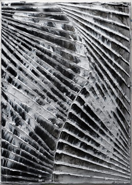 , 'Untitled (diamond sea black/silver),' 2018, VAN HORN