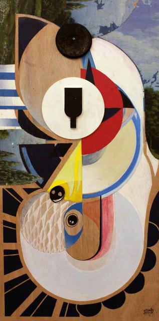 , 'Blue Cisne,' 2015, Fousion Gallery
