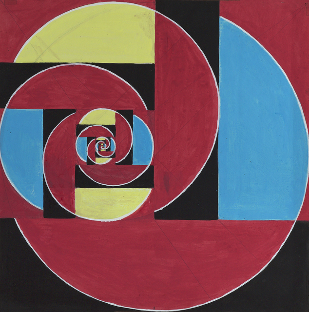 , 'Untitled (Abstraction in Red, Black, Blue, and Yellow),' , Debra Force Fine Art