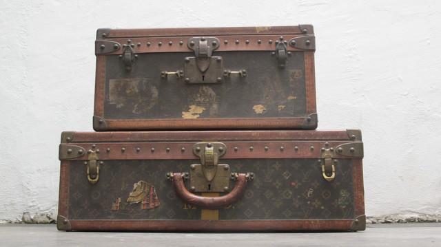 , 'Cube Trunk Travel Case  &  Alzer Trunk Travel Case,' 1906, VOID