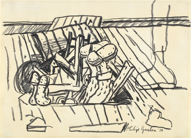 Philip Guston, 'Drawing for Cellar', 1970, Phillips