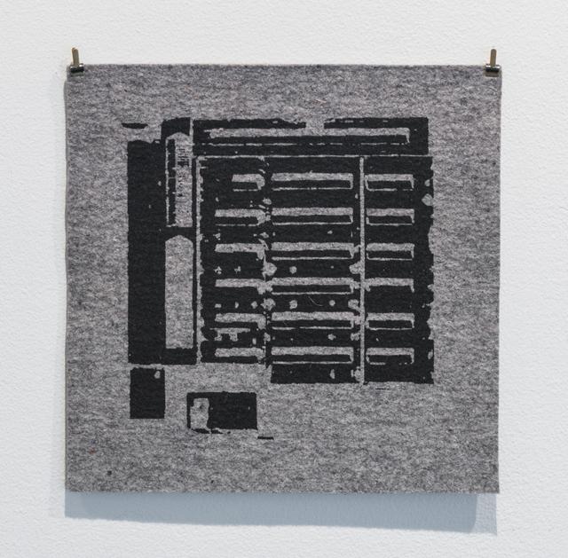 , 'Pegnitz 1,' 2013, Upfor