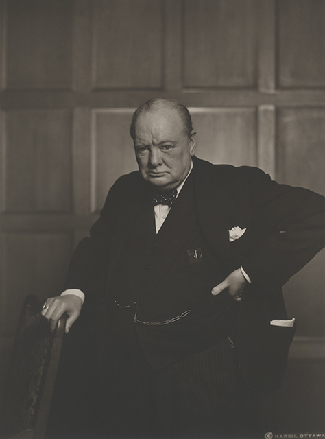 , 'Sir Winston Churchill,' 1941, Johannes Faber