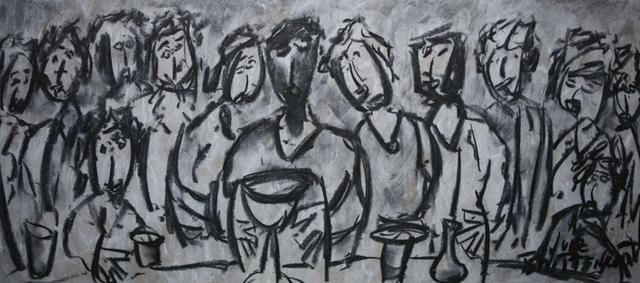 , 'Santa Ceia compartlhando Doações,' , Inn Gallery