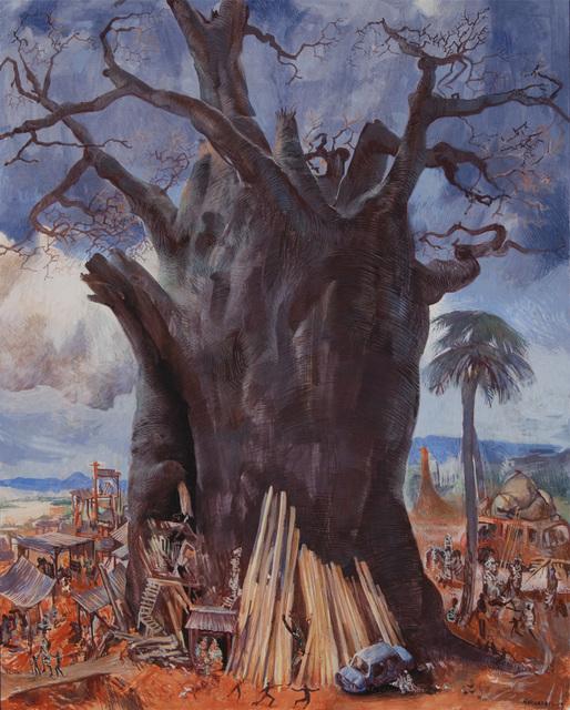 , 'Tower of Baobab,' 2015, Valley House Gallery & Sculpture Garden