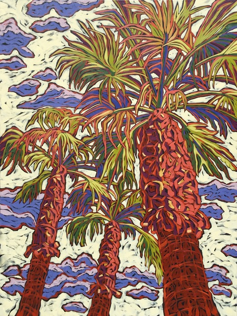 , 'Desert Trio,' 2017, Adelman Fine Art