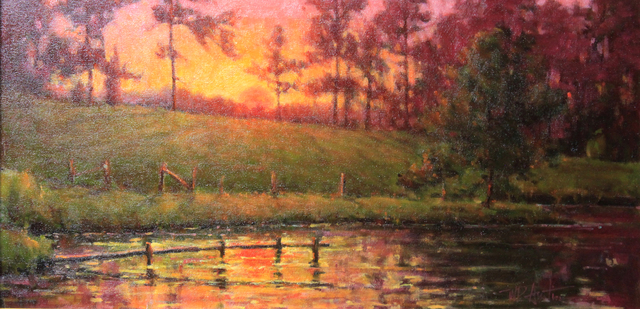 , 'Lake Sunset,' , Beverly McNeil Gallery