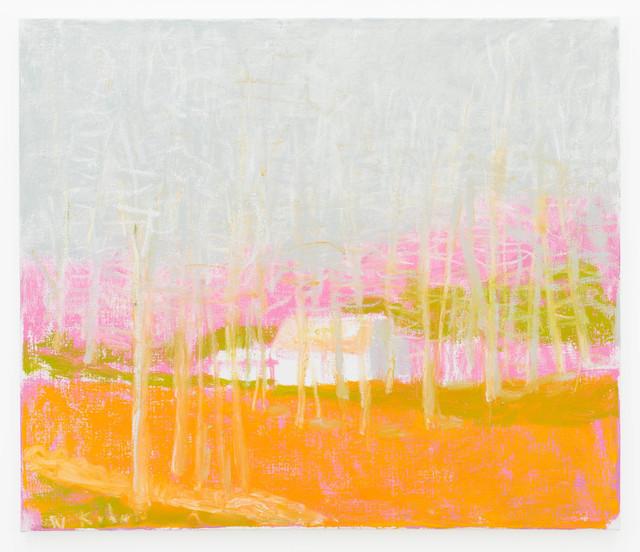 Wolf Kahn, 'In The Suburbs ', 2015, Tayloe Piggott Gallery