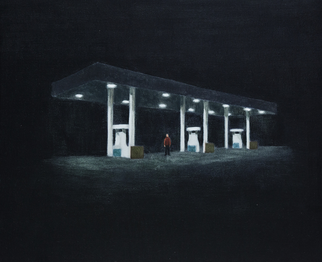 , 'Gas station,' 2017, Yiri Arts