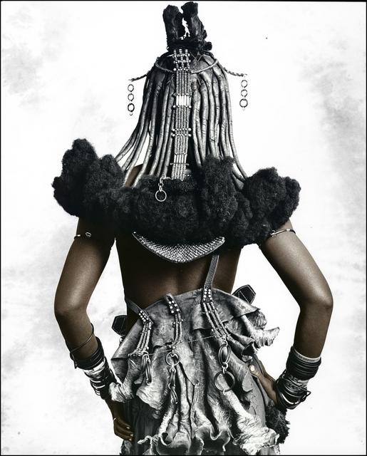 Jan C. Schlegel, 'Jongalero (20), Himba Tribe', 2010, Bernheimer Fine Art