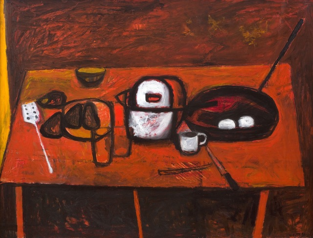 , 'Table Still Life ,' 1955, Piano Nobile