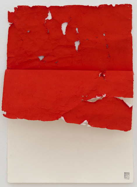 , 'Wound Construction in Red,' 2014, Josée Bienvenu