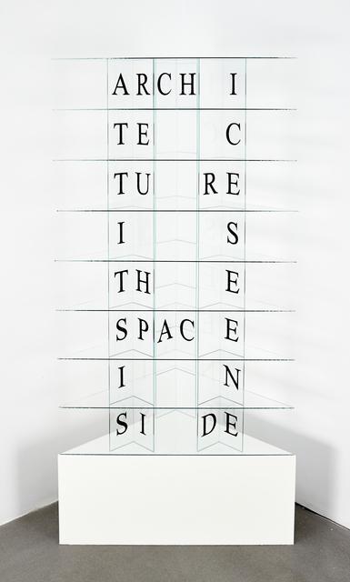 , 'Edicto - Space inside,' 2014, Sabrina Amrani