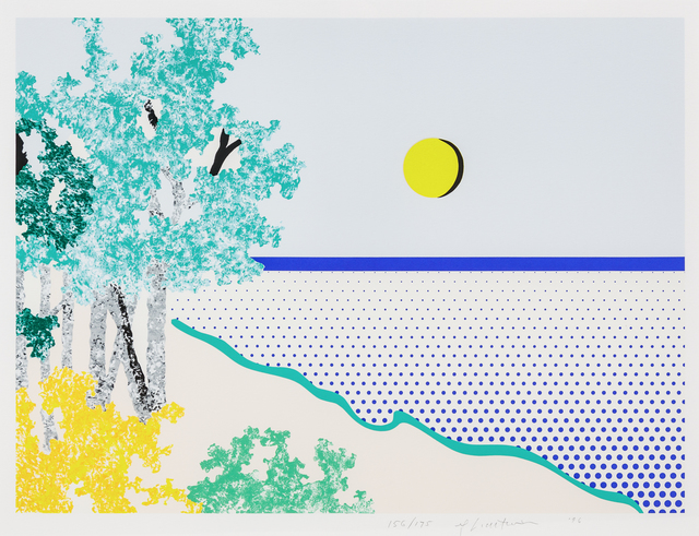 Roy Lichtenstein, 'Titled', 1996, Print, Color screenprint, Hindman