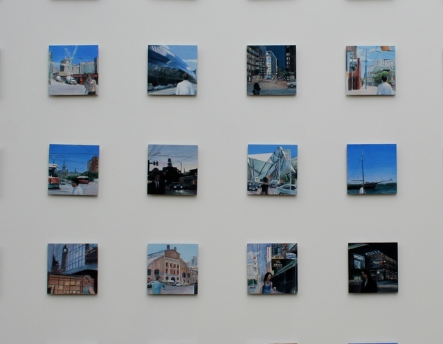 , 'City to City, Toronto, detail from series of 35,' 2012, Jill George Gallery