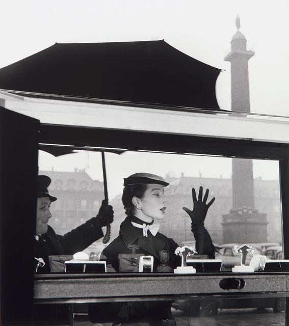 Jean-Philippe Charbonnier, 'Bettina, la plus belle, Paris. Vitrine de Van Cleef et Arpels, Place Vendôme', 1953, Phillips
