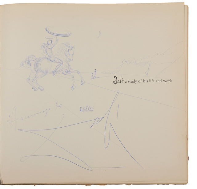 Salvador Dalí, 'Dali: A Study of His Life and Work, Greenwich: New York Graphc Society', 1958, Doyle