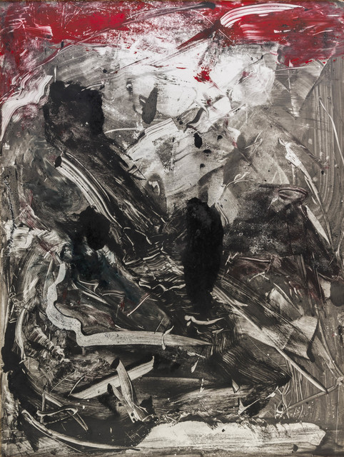 Emilio Vedova, 'Untitled', 1989, Painting, Monotype, oil on paper laid down on canvas, ArtRite