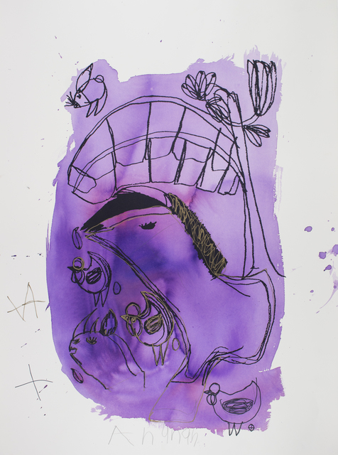 Arunan Dharmalingam, 'Purple Horse & Banana Tree', 2017, Studio A
