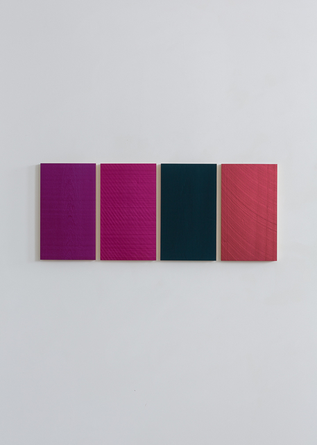 Winston Roeth, 'Quartet #1', 2014, Painting, Pigments on poplar panels, Galerie Christian Lethert