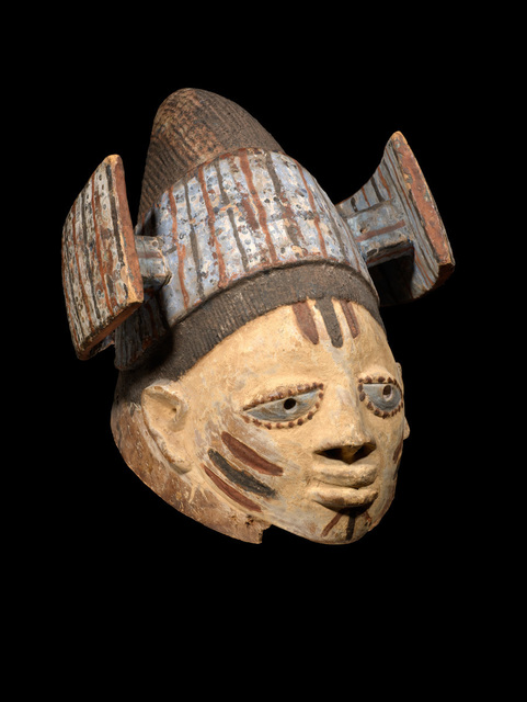 , 'Gelede Helmet Mask,' Turn of the 20th Century, Tambaran