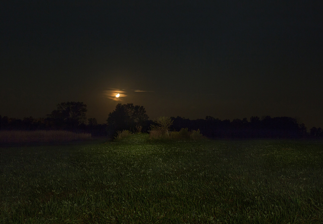, 'Orange Moon. Adams County, Indiana,' 2014, PDNB Gallery