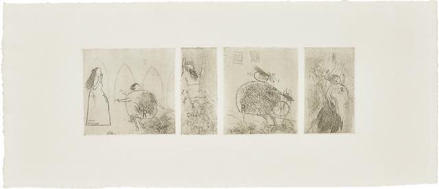 David Hockney, 'Study for Rumplestiltskin', 1961, Phillips