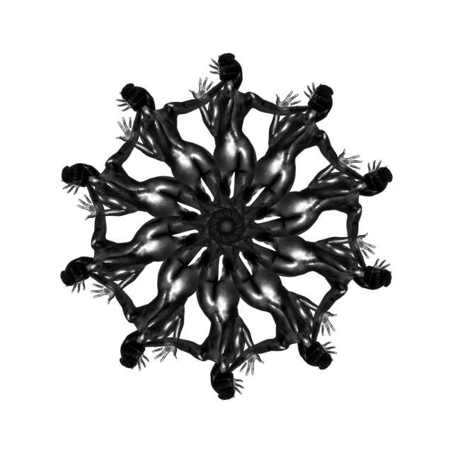 , 'Body Mandala #AHHA10,' 2016, SmithDavidson Gallery