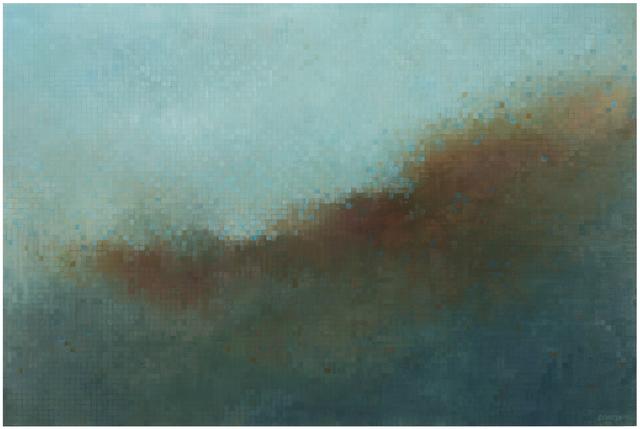 , 'Grid Oscillation,' 2014, Berggruen Gallery