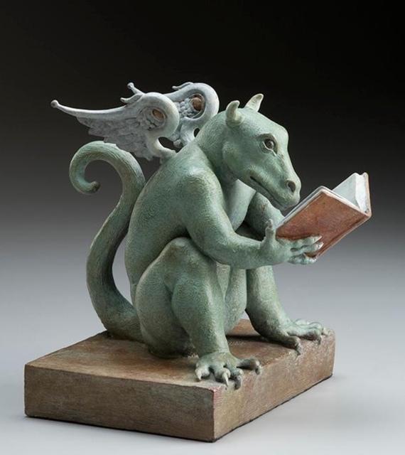 Michael Parkes, 'Dragon, Rex Libris ', 2018, Off The Wall Gallery