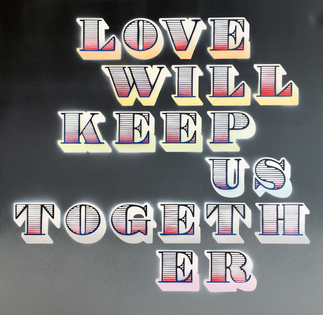 , 'Love Will Keep Us Together (Grey Fade),' 2018, StolenSpace Gallery