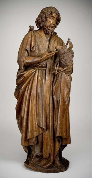 Unknown Artist, 'St. John the Baptist', ca. 1500, Davis Museum