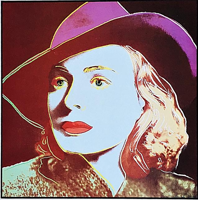 Andy Warhol, ' Ingrid Bergman for Art Basel', 1987, Alpha 137 Gallery