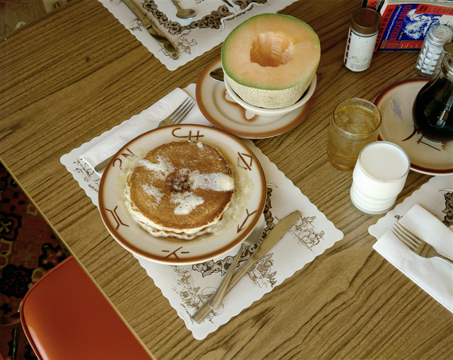 , 'Breakfast, Trail's End Restaurant, Kanab, Utah, August 10, 1973,' 1973, The Museum of Modern Art